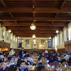 Photo taken at South Dining Hall by Anthony G. on 4/23/2012