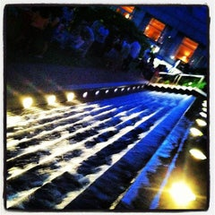 Photo taken at With Love Beer Garden at the Four Seasons Hotel Philadelphia by Tim V. on 6/9/2012
