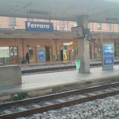 Photo taken at Stazione Ferrara by Diego M. on 1/7/2012