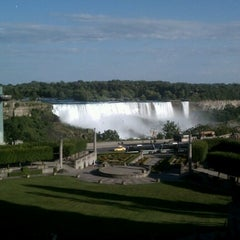 Photo taken at Sheraton on the Falls Hotel by amy on 6/26/2012