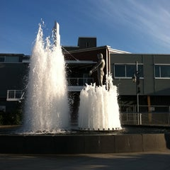 Photo taken at Father & Son Fountain by Terry S. on 8/13/2011
