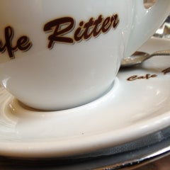 Photo taken at Café Ritter by Ali S. on 5/12/2012