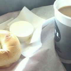Photo taken at 42nd Street Bagel Cafe by Jenn C. on 2/1/2012