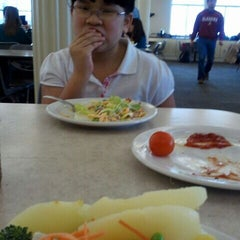 Photo taken at Deacon Jones Dining Hall by Michael S. on 1/18/2012