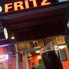 Photo taken at Fritz European Fry House by Steve B. on 4/21/2012