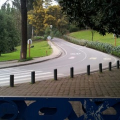 Photo taken at Parque Metropolitano de Santiago by Francisco V. on 9/6/2012