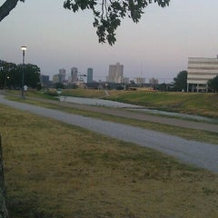 Photo taken at Trinity River Park by Sarah D. on 9/5/2011