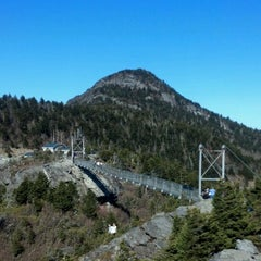 Photo taken at Grandfather Mountain by Eddie B. on 3/10/2012