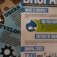 Photo taken at DrupalCon London by Jozef T. on 8/22/2011