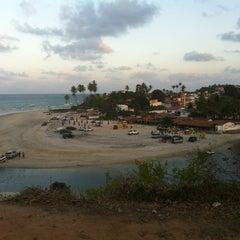 Photo taken at Barraca do Banga by Bruno C. on 1/6/2012
