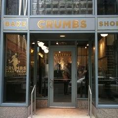 Photo taken at Crumbs Bake Shop by Ellie M. on 3/8/2011