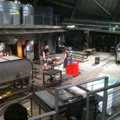 Photo taken at The Hot Shop at the Museum Of Glass by Curt J. on 3/14/2012