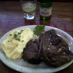 Photo taken at Capital Steakhouse by Jeferson M. on 7/16/2012