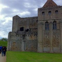 Photo taken at Castle Rising Castle by Rowan M. on 6/17/2012