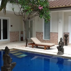 Photo taken at Puri Mas Boutique Resorts & Spa by Asep S. on 7/1/2012