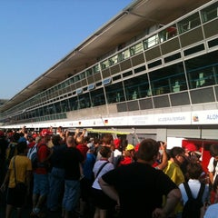 Photo taken at Autodromo Nazionale di Monza by Andrea D. on 9/6/2012