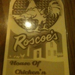 Photo taken at Roscoe's House of Chicken and Waffles by M M. on 2/27/2011