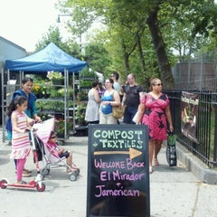 Photo taken at Farmers Market on Cortelyou by Cate P. on 7/15/2012