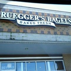 Photo taken at Bruegger's Bagel Bakery by Tj A. on 1/28/2012