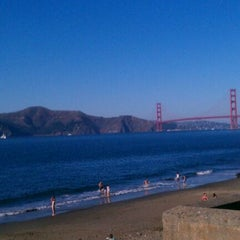 Photo taken at China Beach by Renato A. on 10/22/2011