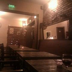 Photo taken at Brick Cafe by Peter K. on 1/20/2012