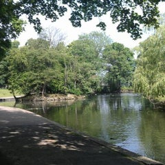 Photo taken at Hillsborough Park by Nick H. on 6/26/2012
