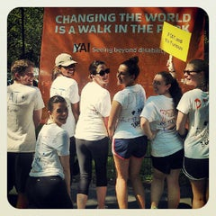 Photo taken at YAI Central Park Challenge by Amy T. on 6/2/2012