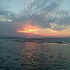 Photo taken at Majoru pludmale | Majori beach by Максим Н. on 8/19/2012