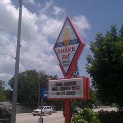 Photo taken at Shake Pit by Patrick D. on 7/7/2012