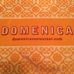 Photo taken at Domenica by Sascha G. on 3/11/2012