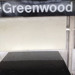 Photo taken at MTA Subway - 111th St/Greenwood Ave (A) by Anthony C. on 4/14/2012