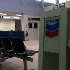 Photo taken at Chevron Hangar by Wasan J. on 6/6/2012