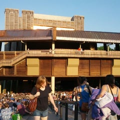 Photo taken at Wolf Trap National Park for the Performing Arts (Filene Center) by Sean B. on 6/20/2012