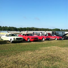 Photo taken at WDW Speedway - Richard Petty / Exotic Driving Experience by Jennifer J. on 4/1/2012