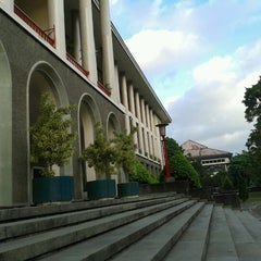 Photo taken at Gedung Pusat UGM by Tofo P. on 6/30/2012