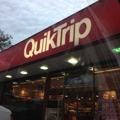 Photo taken at QuikTrip by DeVon T. on 2/21/2012
