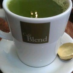 Photo taken at Café Blend by Richard T. on 5/22/2012