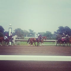 Photo taken at Monmouth Park Racetrack by lauren f. on 8/25/2012