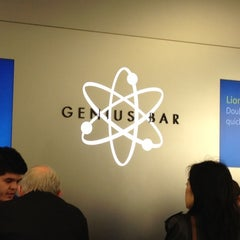Photo taken at Apple Store, Providence Place by Xinxin C. on 3/24/2012