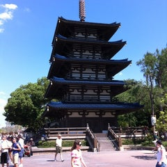 Photo taken at Japan Pavilion by Aaron R. on 4/3/2012