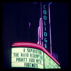 Photo taken at Coolidge Corner Theatre by Hiroki M. on 4/8/2012