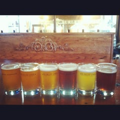 Photo taken at Burley Oak Brewing Company by Sarah C. on 9/2/2012
