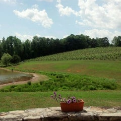 Photo taken at Three Sisters Vineyards & Winery by Scott K. on 5/6/2012