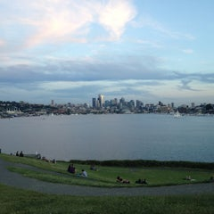 Photo taken at Gas Works Park by Sean C. on 6/28/2012