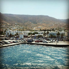 Photo taken at Λιμάνι Πάρου by Alexandros K. on 8/28/2012