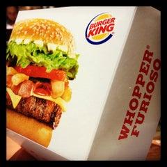 Photo taken at Burger King by Tiba on 4/29/2012