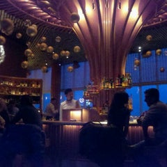 Photo taken at The Living Room at The Standard, New York by Denise H. on 12/16/2011