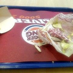 Photo taken at Burger King by christine r. on 1/3/2012