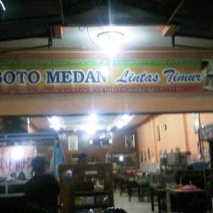 Photo taken at RM. Soto Medan by Yudhi Eka P. on 1/11/2012