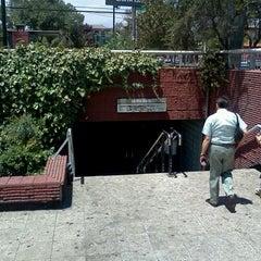 Photo taken at Metro Santa Isabel by Diego C. on 1/9/2012